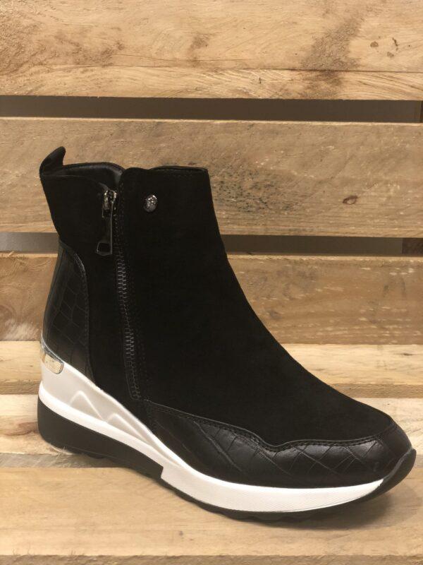 Støvler i sneakerslook