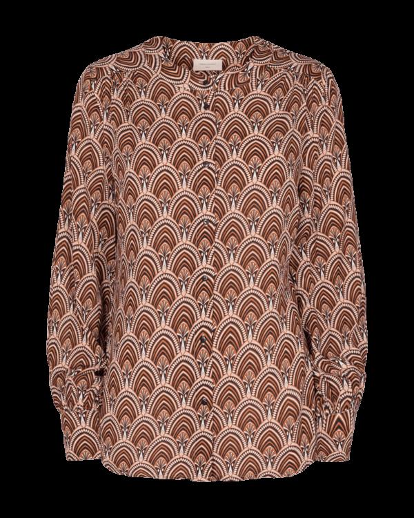 FREEQUENT FQSARI Skjorte i brune nuancer