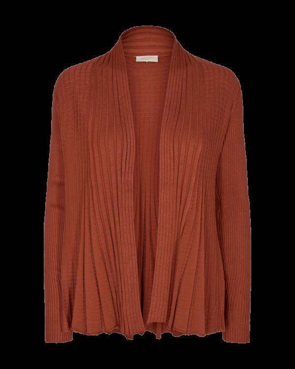 Freequent FQCLAUDISSE Cardigan i Rust