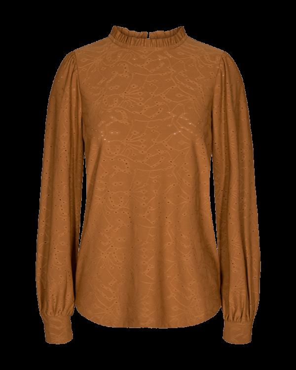 Freequent FQBLOND Skjorte i Brændt Orange